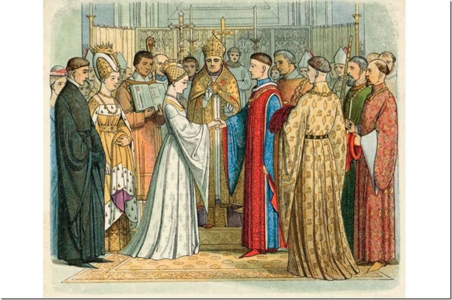 Catherine of Valoise weds Henry V