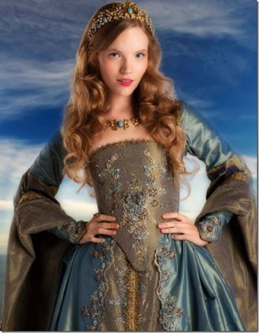 Katheryn Howard in The Tudors Showtime series