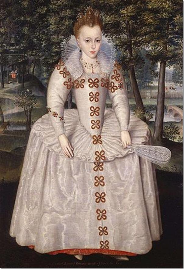 Princess Elizabeth Stuart age 7