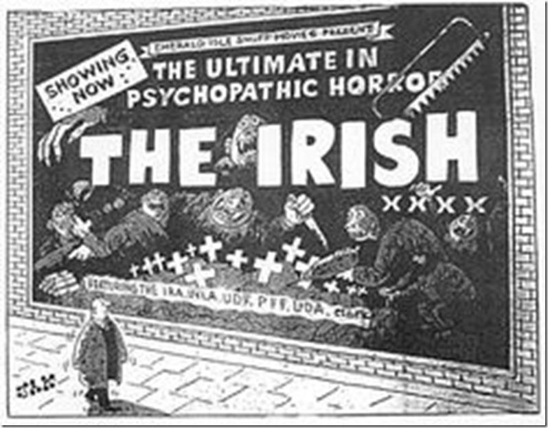 anti-Irish cartoon