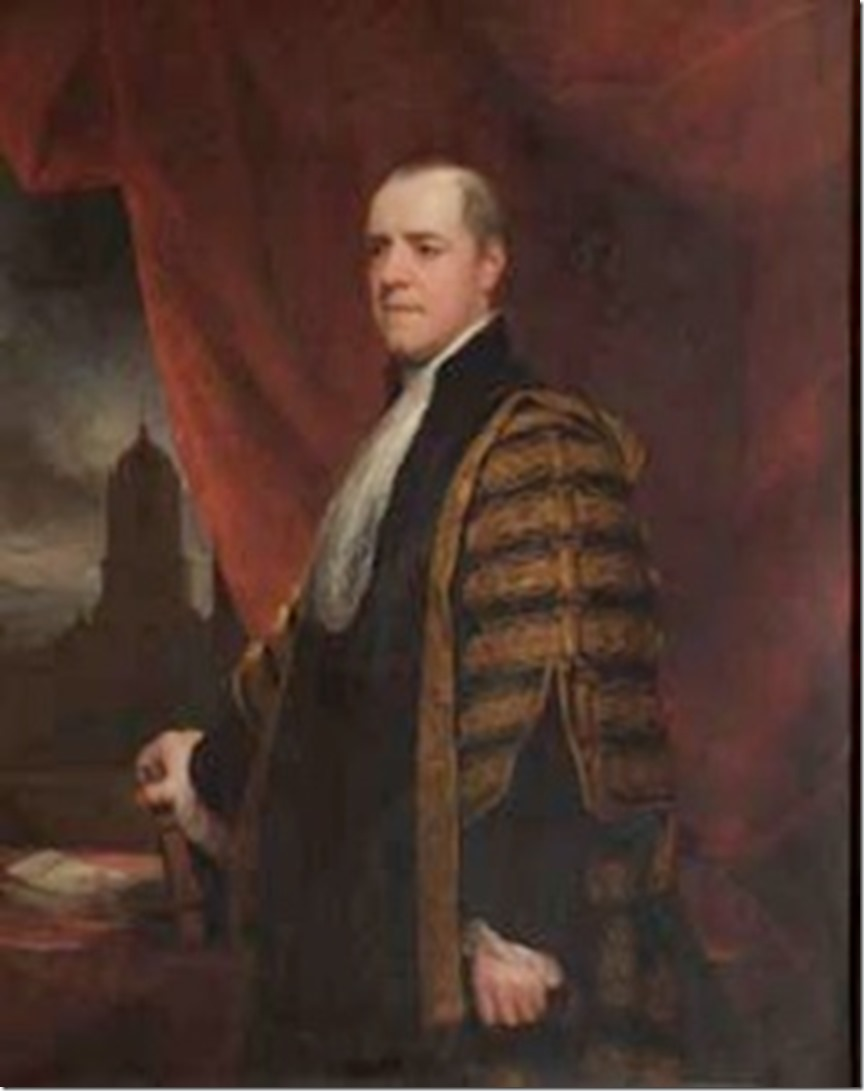 Baron Grenville as Chancellor of Oxford