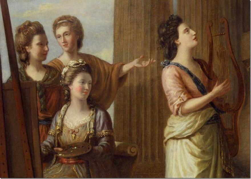 Nine Living Muses