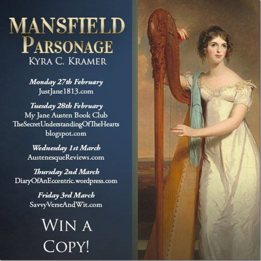 Mansfield Parsonage blog tour