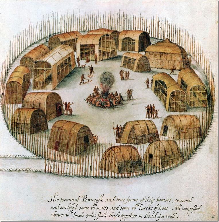 Lenape village