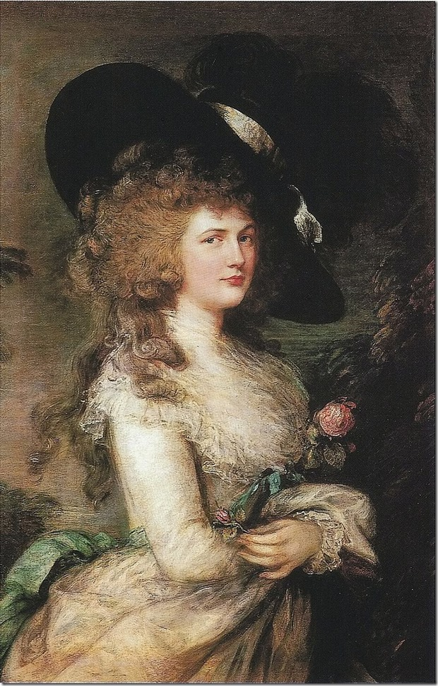 Thomas_Gainsborough_Lady_Georgiana_Cavendish circa 1787