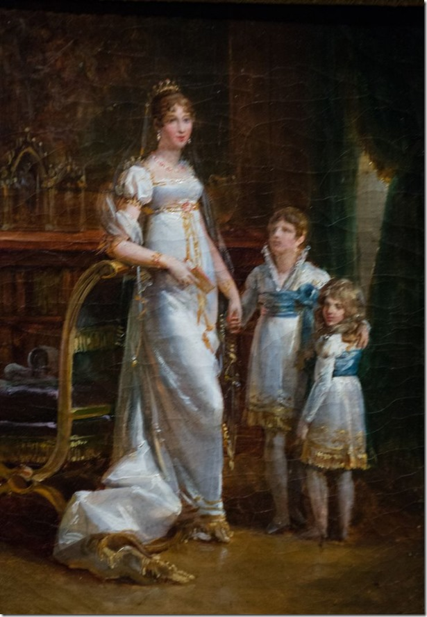 Josephine with her children