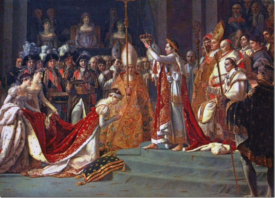 Napoleon crowns Josephine 2 December 1804