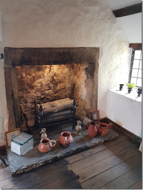 Tenby Tudor Merchant's House top floor fireplace