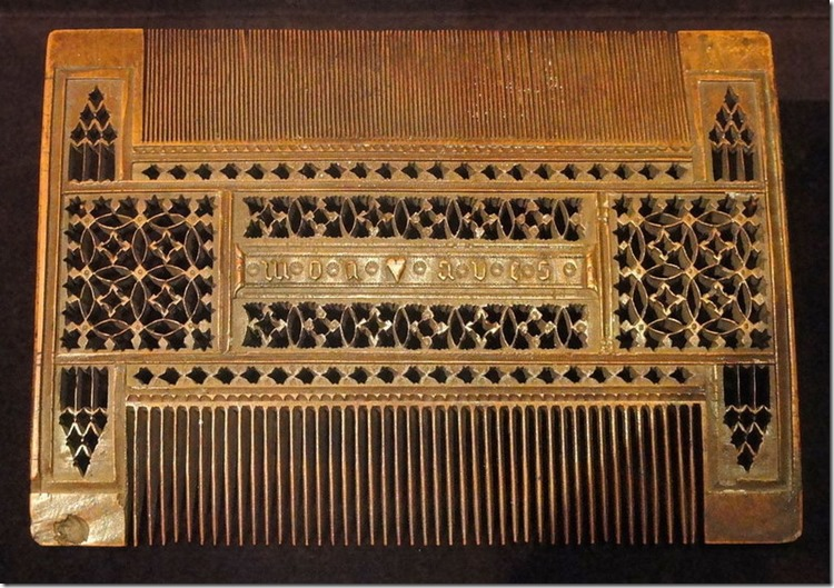 lice comb of yore