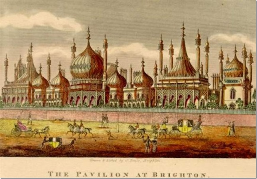 Brighton Royal Pavilion circa 1820