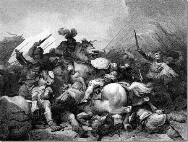 Battle_of_Bosworth_by_Philip_James_de_Loutherbourg 18th century