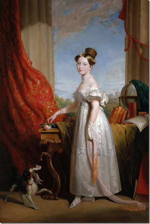 Princess_Victoria_and_Dash_by_George_Hayter 1833