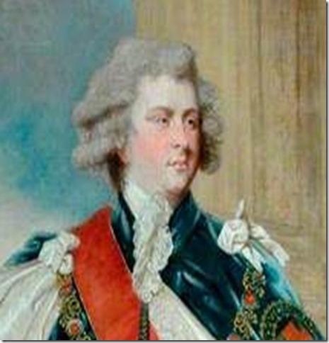 George IV as Prince of Wales circa 1780