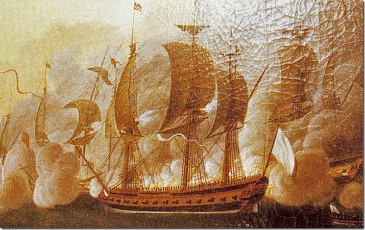 Lafayette's ship