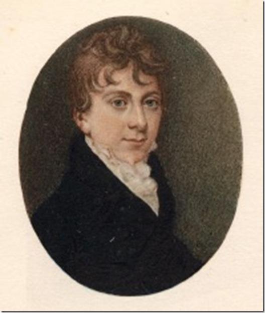 Thomas Love Peacock when young