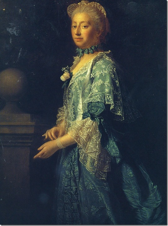 Augusta Of Saxe-Gotha by Ramsay 1759