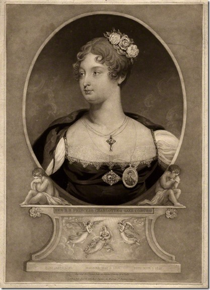 NPG D8122; Princess Charlotte Augusta of Wales