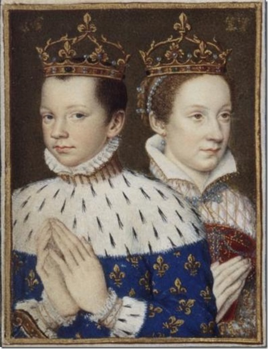 Francois II and Mary Queen of Scots