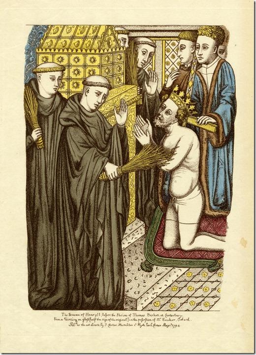 Henry II penance