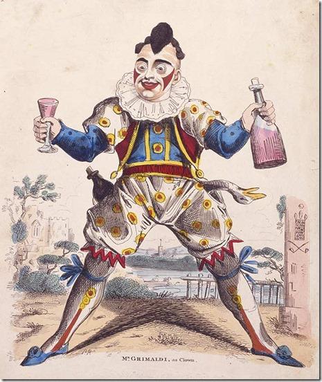 Joseph_Grimaldi as Joey the Clown
