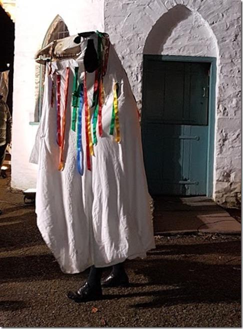 Mari Lwyd at St Fagans 1