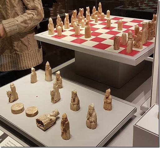 Lewis Chessmen at British Museum 1