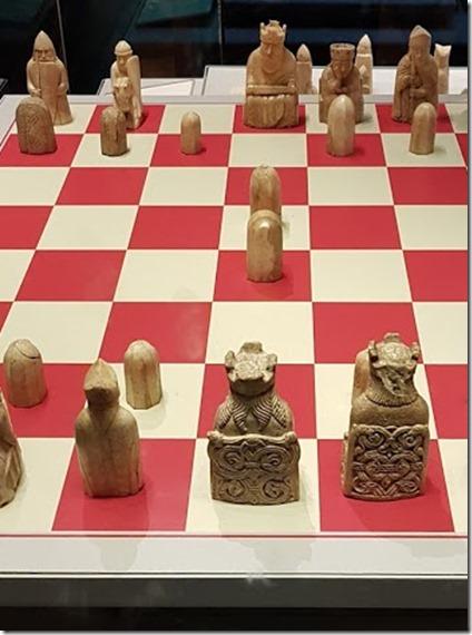 Lewis Chessmen at British Museum 2