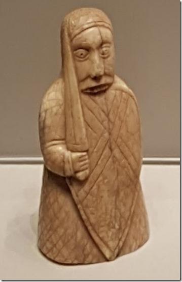 Lewis Chessmen at British Museum 5