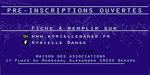 Pré inscription Saison 2016 /2017