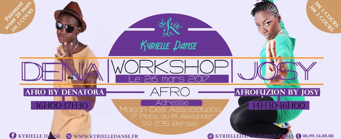 Workshop Afro Avec Josy Sensuafro & Denatora