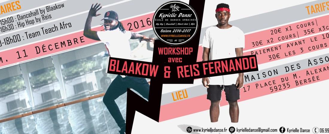 Workshop Blaakow & Reis Fernando │ Kyrielle Bersée – 11/12/16