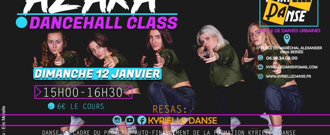 DANCEHALL CLASS AVEC AZAKA