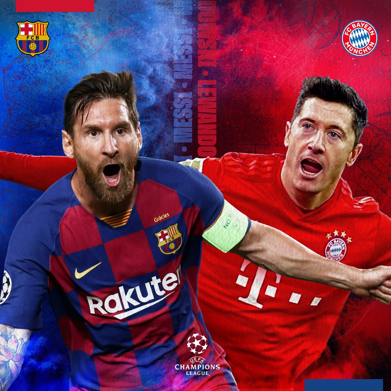 Fc bayern munich was founded by members of a munich gymnastics club (mtv 1879). Barcelona Vs Bayern Munich Preview Prediction Predicted Xi And More Ucl 2019 20