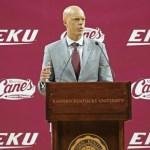 A.W. Hamilton Officially Introduced As EKU MBB Head Coach