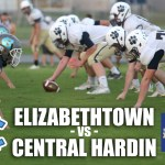 Elizabethtown vs Central Hardin – HS JV Football 2018 [GAME]