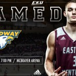 EKU MBB Return Home To Take On Midway