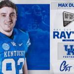 UK Football's Max Duffy Named to Ray's 8, Candidate for Punter of the Week