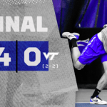UK MTEN Close ITA Kick-Off Weekend with Sweep of Virginia Tech