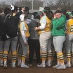 Allen launches pair of homers as Kentucky State Softball splits