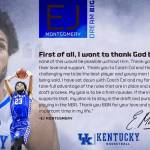 UK MBB's Montgomery to Test Waters and Enter NBA Draft; Eligible to Return