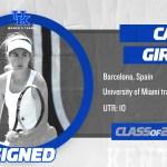 UK Women's Tennis Signs Girbau to Class of 2019