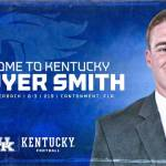 Quarterback Sawyer Smith Transfers to Kentucky