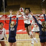 WKU Volleyball Matthews' Record Night Leads Tops to Third Tournament Win