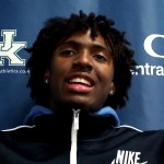 UK Wildcats MBB Tyrese Maxey on Blue White Game