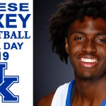 UK Wildcats Basketball Tyrese Maxey on Media Day 2019