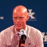 EKU Basketball Coach AJ Hamilton Postgame vs Kentucky