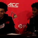 Louisville Basketball Jordan Nwora & Darius Perry Postgame vs Youngstown State