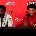Louisville Basketball Darius Perry & Dwayne Sutton Postgame vs NC Central