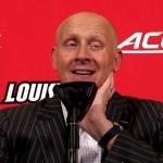 Louisville Basketball Coach Mack Postgame vs USC Upstate