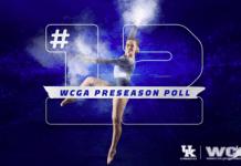 UK GYM: UK Gymnastics Ranked No. 12 in WCGA Preseason Poll